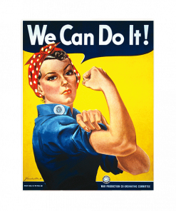 Vintage Poster We Can Do It kopen