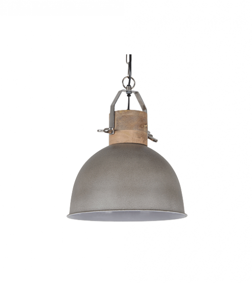 Hanglamp Fabriano 30 cm cement kleur