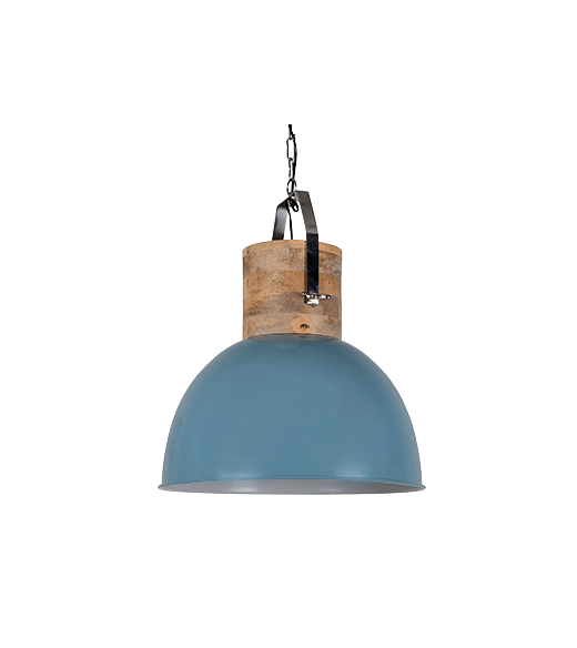 Hanglamp Fabriano 30 cm vintage blue