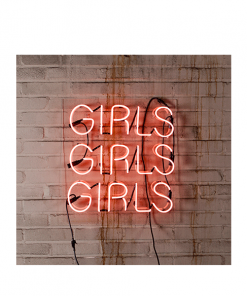 Neon lamp girls girls girls