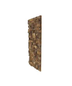 HSM Collection Wanddecoratie - blank - teak