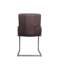 Stoel Dallas - brown - iron/fabric - HSM Collection