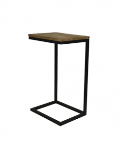 Sidetable Read - naturel/zwart - mango wood/ijzer HSM Collection