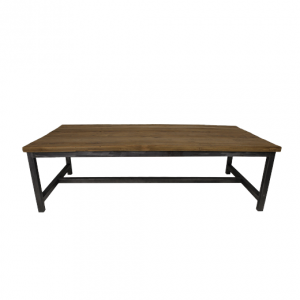 Salontafel Dingklik Teak - 120x60 cm - metaalteak - HSM Collection