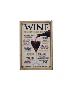 Mancave bord - Wine from around the world