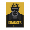 Breaking bad - I am the danger wandplaat