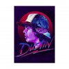 Stranger Things - Dustin wandplaat