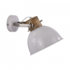 Wandlamp Fabriano groot glans wit