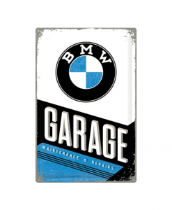 BMW garage - metalen bord