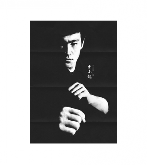 Bruce Lee - Jeet kune Do wandplaat