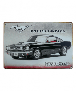 Ford Mustang 1965 - metalen bord