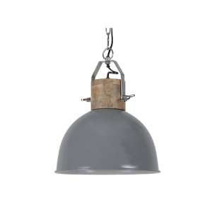 Hanglamp Fabriano 30 cm glans donker grijs