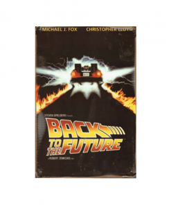 Mancave bord - Back to the future