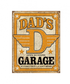 Mancave bord - Dad's Garage 2.0
