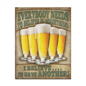 Mancave bord - Everybody Needs