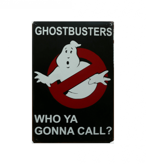 Mancave bord - Ghostbusters