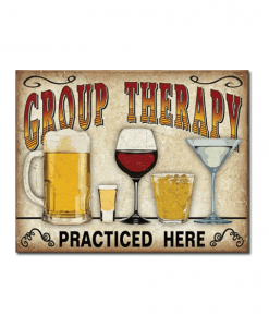 Mancave bord - Group Therapy