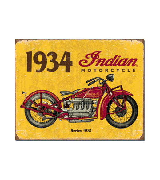 Mancave bord - Indian 1934