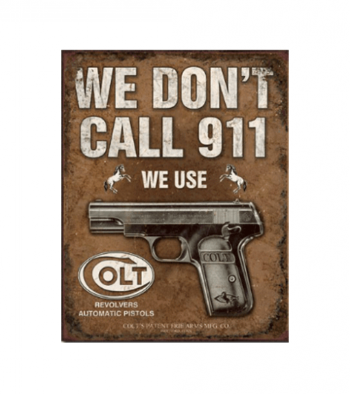 Mancave bord - We don't call 911