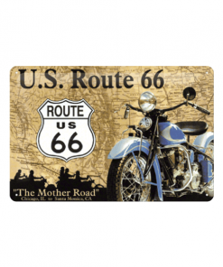 Route 66 U.S. - metalen bord