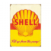 Shell Fill up from the pump - metalen bord