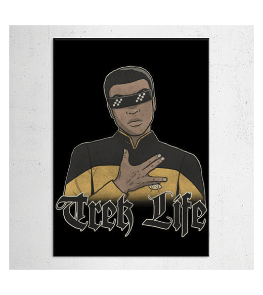 Star Trek - Trek Life wandplaat