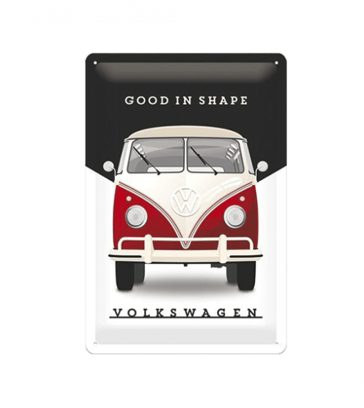 Volkswagen In Good Shape - metalen bord