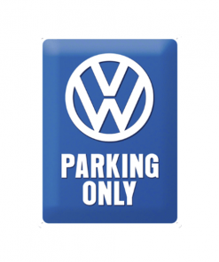 Volkswagen Parking Only - metalen bord