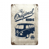 Volkswagen The Original Ride bus - metalen bord