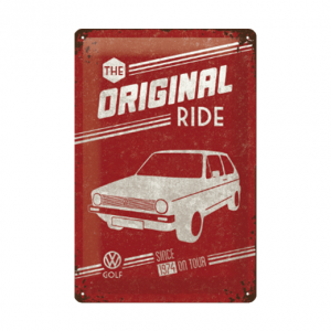 Volkswagen The Original Ride - metalen bord
