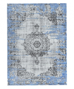 Vloerkleed Bohemian Grey Blue