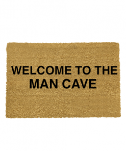 Welcome to the Mancave kokos deurmat