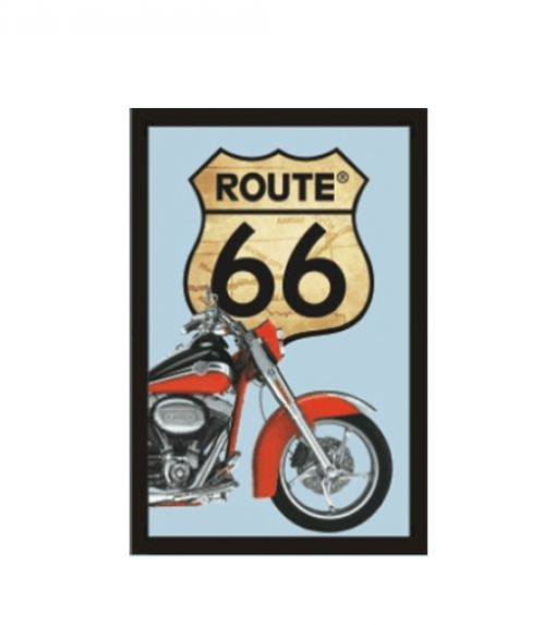 Barspiegel Route 66 motorcycle