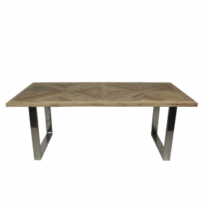 Eettafel Mozaiek - blank teak - HSM Collection