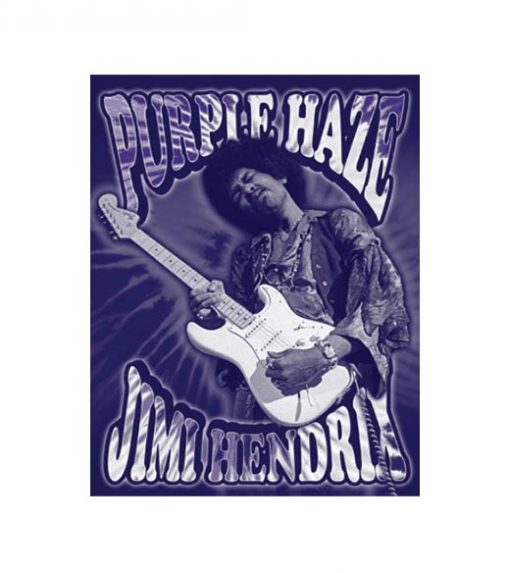 Purple Haze - metalen bord