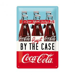 Coca Cola buy it - metalen bord