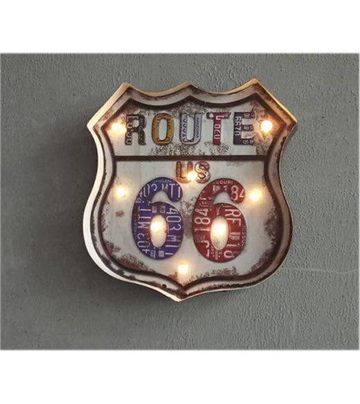 Route US 66 LED verlichting