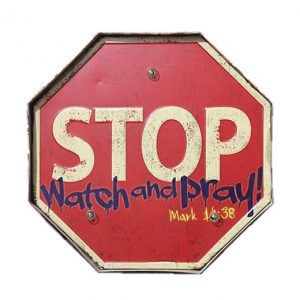 Stop Watch and Pray LED verlichting