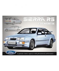 Ford Sierra RS - metalen bord