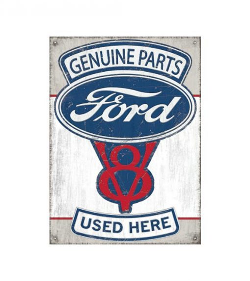 Ford parts - metalen bord