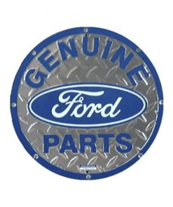 Ford parts rond - metalen bord