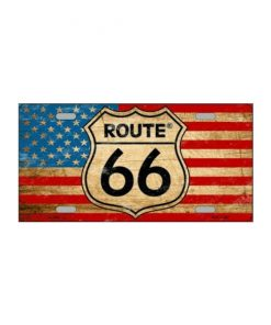 Route 66 USA - metalen bord