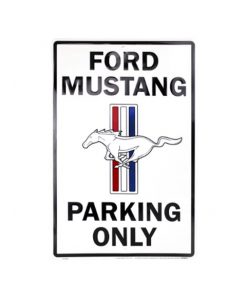 Ford Mustang parkeerbord - metalen bord