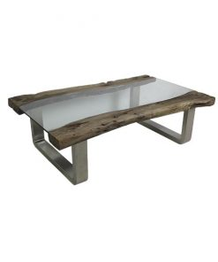 Salontafel industrieel Brock 125 x 78cm hout - HSM Collection