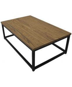 Salontafel industrieel Flip zwart metaal - HSM Collection