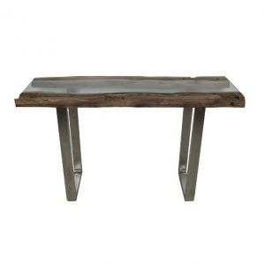 Sidetable industrieel Brock hout 130 x 45cm - HSM Collection