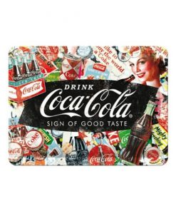 Coca Cola Sign of good taste - metalen bord