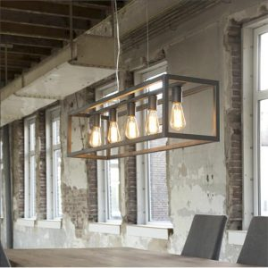 Metalen hanglamp Aiden