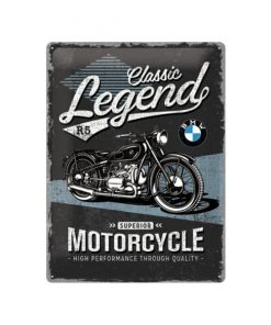 BMW Classic legend - metalen bord