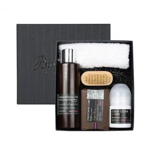 Bath House Cadeauset Cuban Cedar & Lime - Shower